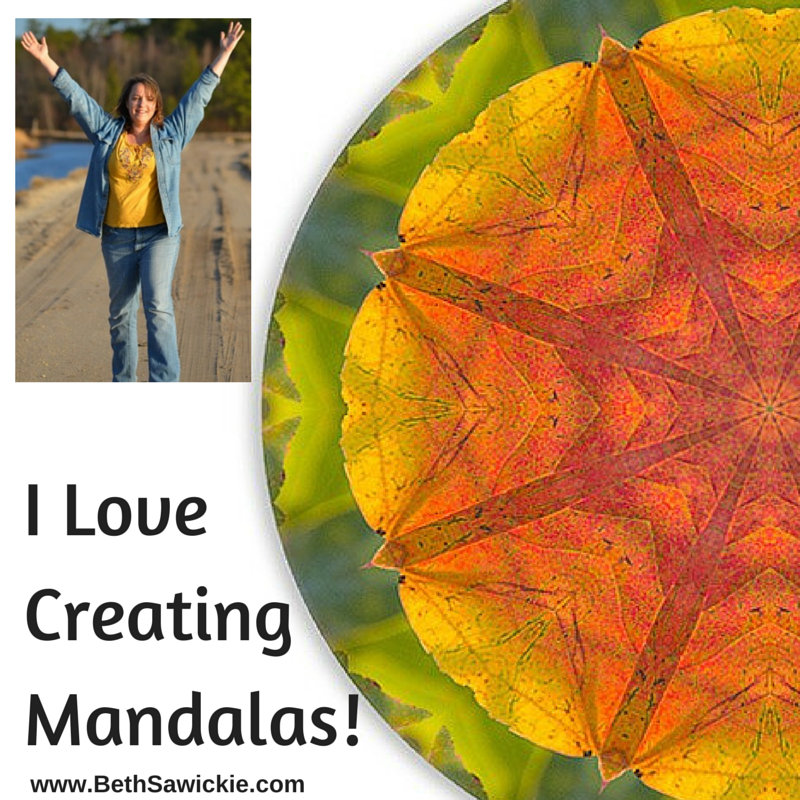 I Love Creating Mandalas!