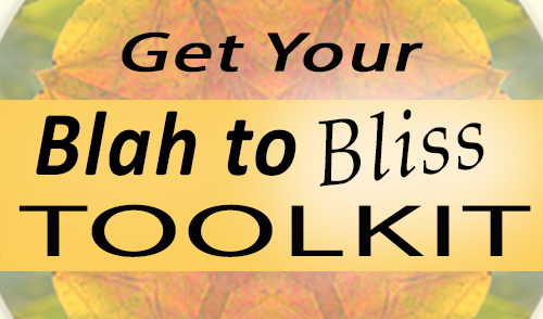 Get Your Blah to Bliss Tool Kit