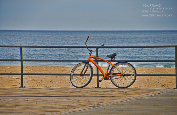 """Photo by Beth Sawickie www.BethSawickie.com/Jersey-Shore-Bicycle """"Jersey Shore Bicycle"""""""