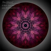 Midnight Mandala #1 by Beth Sawickie http://www.BethSawickie.com/midnight-mandala-1