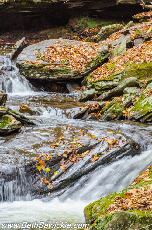 Moving Water at Ricketts Glen, PA by Beth Sawickie http://bethsawickie.com/our-ricketts-glen-adventure/