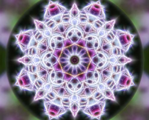 Spring Energy Mandala by Beth Sawickie