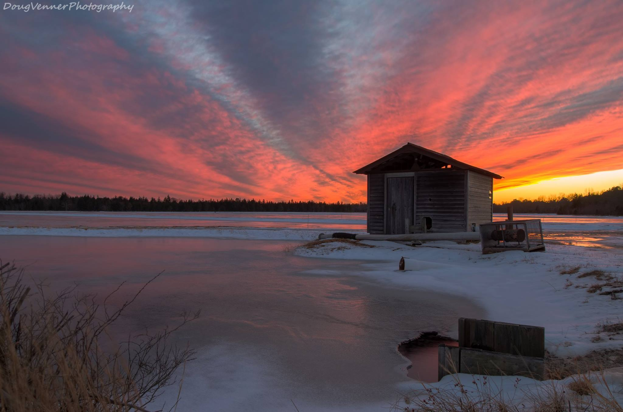 Sunset, Feb 23rd by Doug Venner