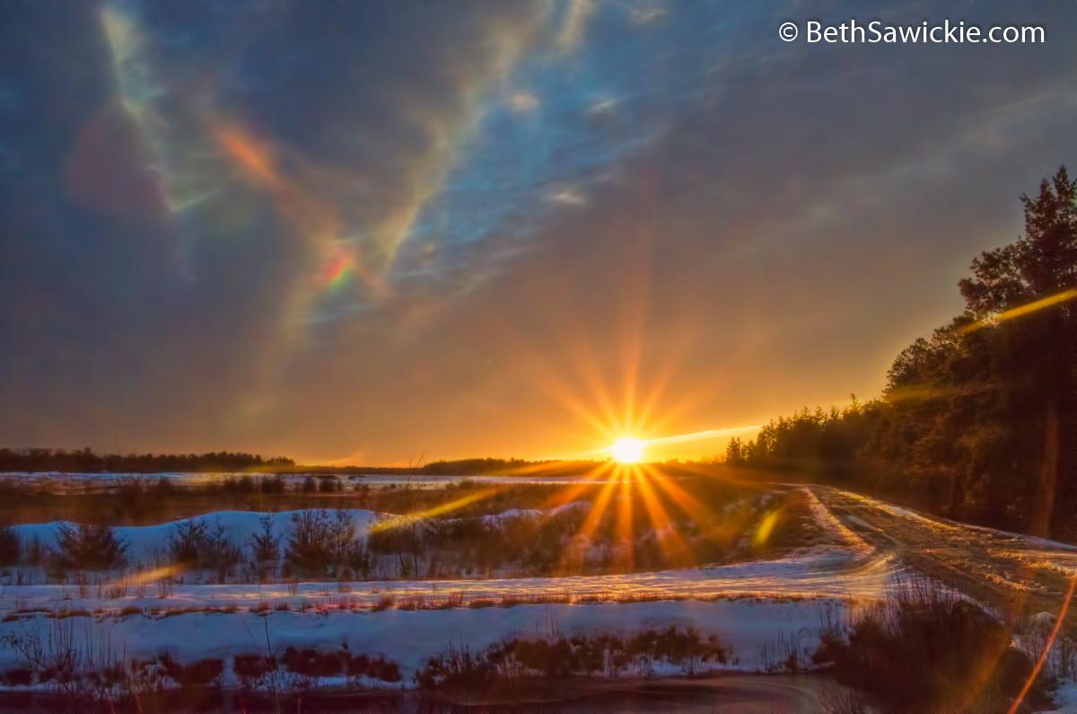 Sunset Glow 4 by Beth Sawickie