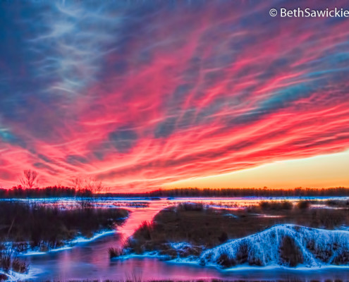 Sunset Glow 7 by Beth Sawickie