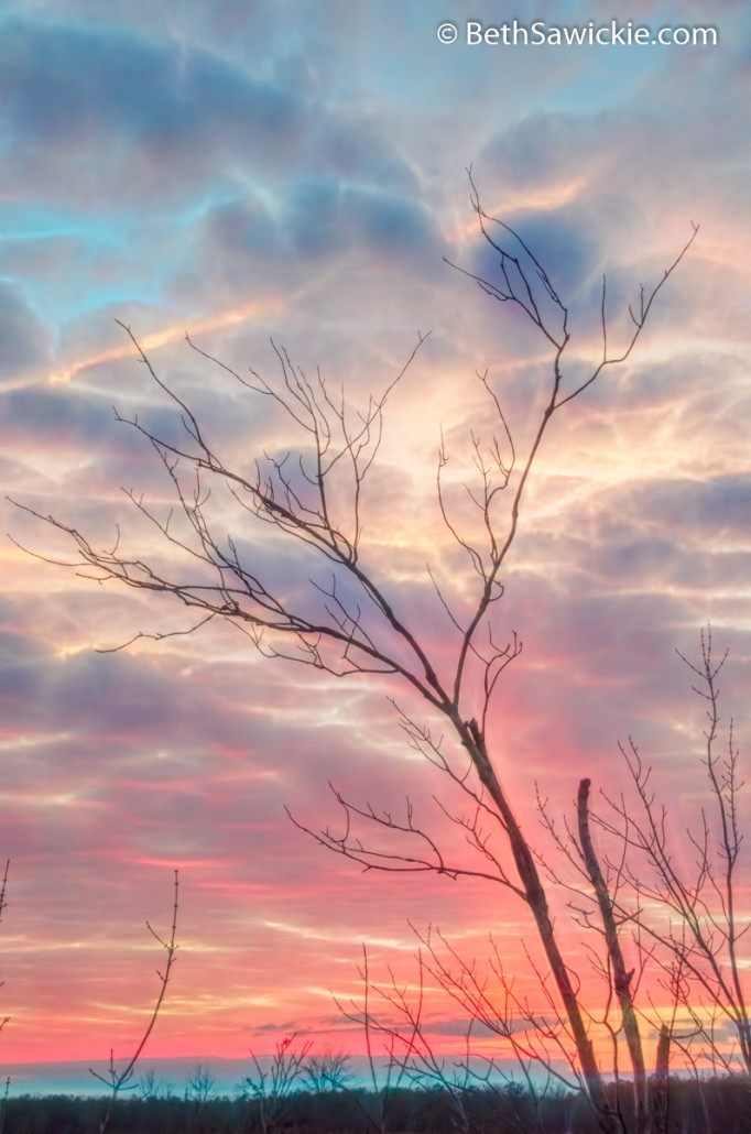 Sunset of Wanting by Beth Sawickie