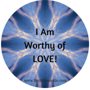 I Am Worthy of Love Video Affirmation by Beth Sawickie http://bethsawickie.com/i-am-worthy-of-love-video-affirmation