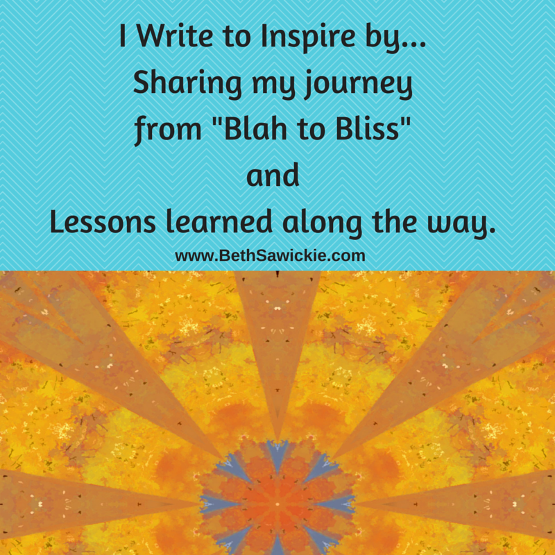 write to inspire - Beth Sawickie http://bethsawickie.com/writings